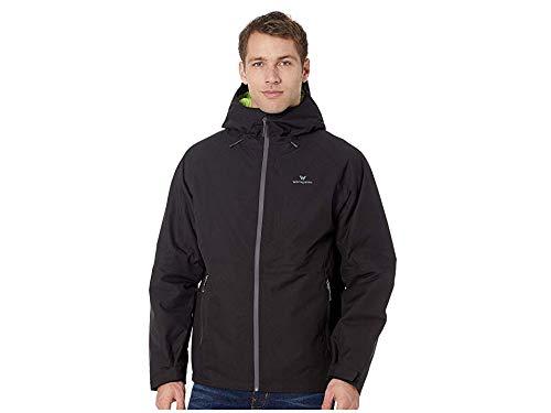 (White Sierra Men's Rubicon Insulated Waterproof Jacket, X-Large, Black)