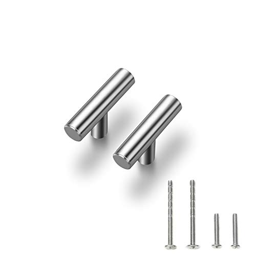 - 30 Pack |2'' Cabinet Pulls Brushed Nickel Stainless Steel Kitchen Cupboard Handles Cabinet Handles 2
