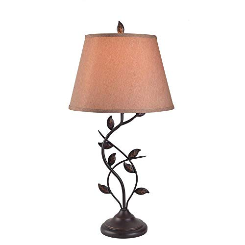 Kenroy Home 32239 Ashlen Table Lamp 31 Inch Height, 15 Inch Diameter Oil Rubbed Bronze Finish
