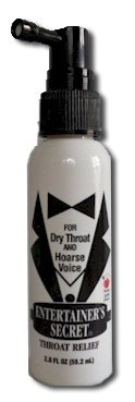 New and Improved Entertainer's Secret Throat Relief Spray with FREE AAA Musical Pen
