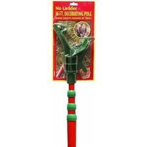 Outdoor Christmas Tree Light Pole