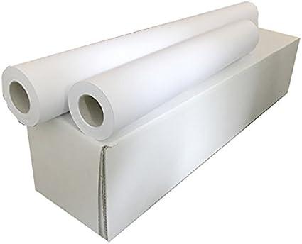 Sa.Ba.Cart 17361005050p00080 unidades 4 rollos Plotter A1, papel ...