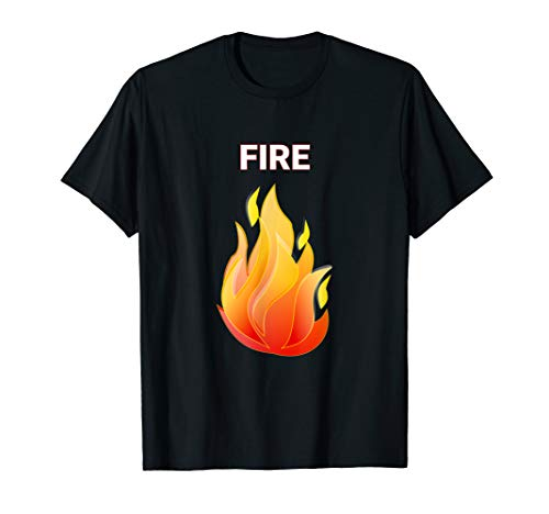Fire and Ice Matching Couple Halloween Group Costume Shirts -