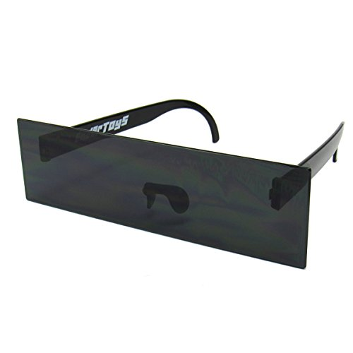 Censor Bar Black Novelty Sunglasses by - Bar Sunglasses