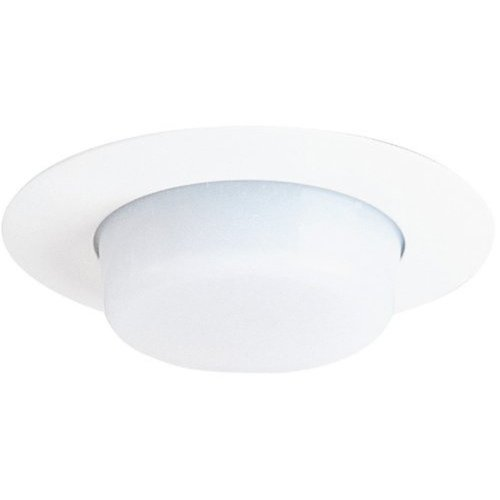 - Juno Lighting 11-WH 4-Inch Drop Opal Trim, White with White Lens