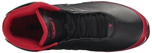 And1 Mens Rocket 3.0 Sneaker Nero / Rosso / Nero