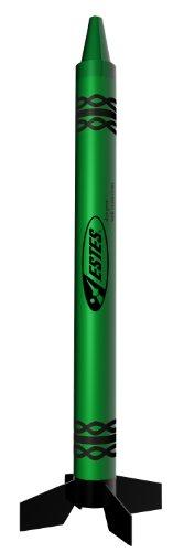 Estes Alien Crayon Model Rocket Kit, -