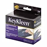 Read Right RR1243 KeyKleen Premoistened Cleaning Swabs 24/Box