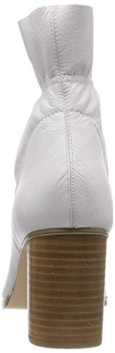 Leather 800 white Boot Bianco Bottines Blanc Femme 1wxY66qFd