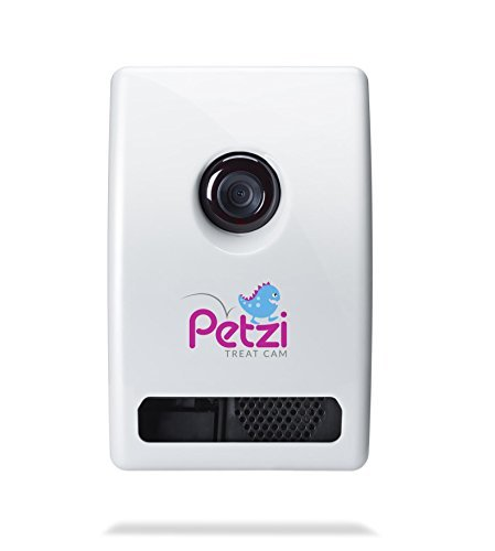 - Petzi Treat Cam: Wi-Fi Pet Camera & Treat Dispenser, Enabled with Amazon Dash Replenishment
