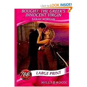 Bought: the Greek's Innocent Virgin (Romance Large Print) Sarah Morgan