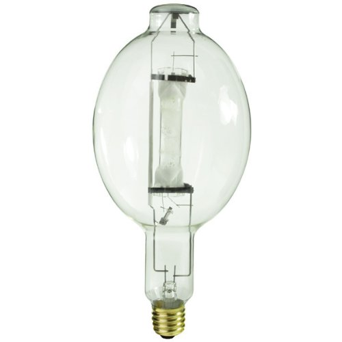 Plusrite 1524 1000W - BT56-P - Pulse Start - Metal Halide - Protected Arc Tube - 4200K - Mogul Base - ANSI M141/O - Base Up Burn - MP1000/BT56/PS/BU/4K