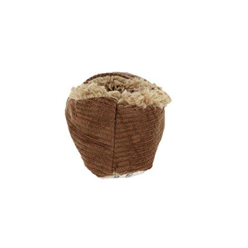 Snoozies Uomo Calze Antiscivolo In Pile Foderato In Pile, Cioccolato S