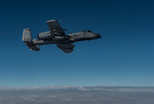 (Home Comforts LAMINATED POSTER U.S. Air Force A-10 Warthog flies off the wing of a USAF KC-135 Stratotanker before refueling, the A)