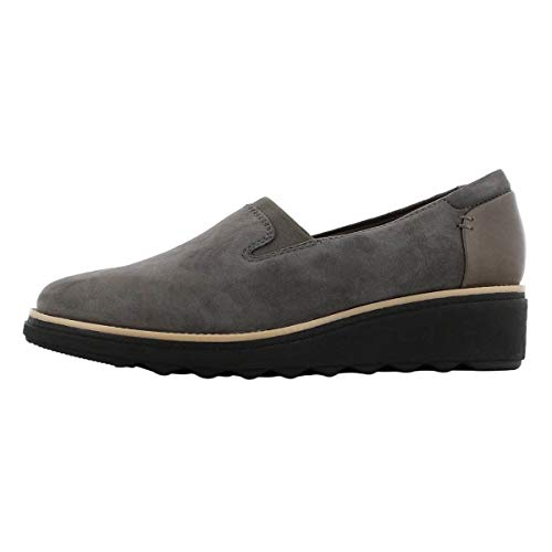 CLARKS Women's Sharon Dolly Loafer Grey