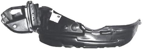 KA Depot 1 Day Shipping for Matrix 2003-2008 5387602110 TO1248123 Front Driver Left Side Fender Liner Inner Panel Plastic Guard Shield