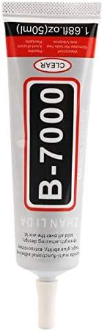 50ml B-7000 Praktischer superstarker Klebstoff mit Nadel für Handy DIY Shell Strasssteine
