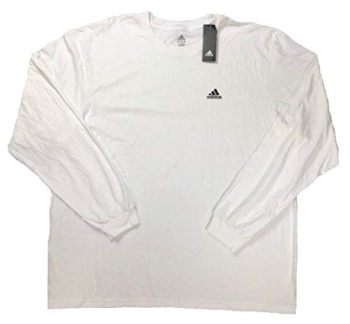 7b6ba97f adidas Men's Training Long Sleeve Tee (XXX-Large, Optic White) - Buy ...