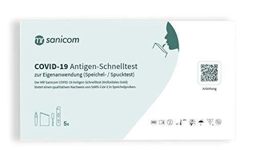 MR-Sanicom-COVID-19-Antigen-Schnelltest-Kolloidales-Gold-Speichel-Spucktest-5-Stueck