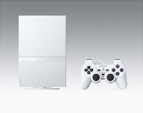 Ceramic Console (JAPANESE-PlayStation2 Console Ceramic White (SCPH-90007CW))