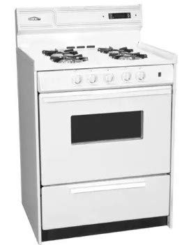 Summit Bisque Freestanding Gas Range SNM6307CKW
