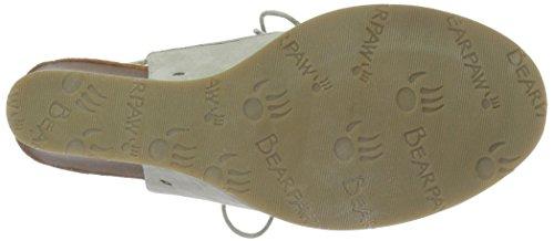 Bearpaw Femmes Sandales Compensées Linen