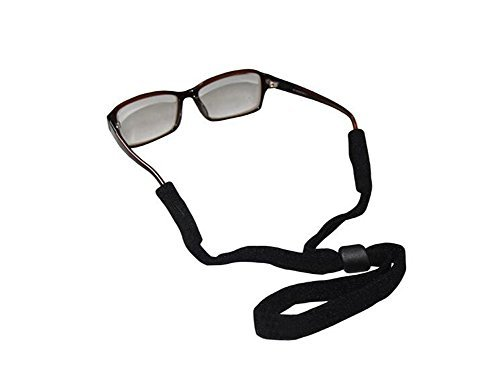 Men Women Black Anti-slide Reusable Adjustable Eyewear Retainer Sports Safety Sunglass Holder Strap Eyeglasses Neck Cord from ASTRQLE