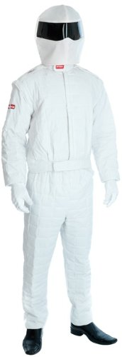 The Stig Racing Driver Male Fancy Dress Costume - M (Chest 38-40in) (M And M Packet Costumes)