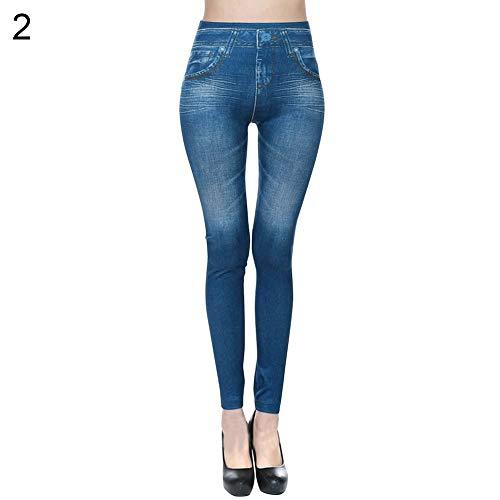Ladies Women Skinny Jeggings Stretchy Pants Leggings Jeans Pencil Tight Trousers