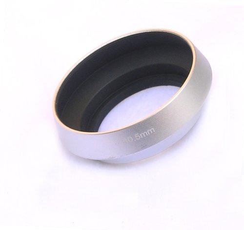 - EzFoto 40.5mm Silver Tilted Metal Lens Hood Shade for Leica, Contax Zeiss, Voigtlander, Pentax Q prime, NIKKOR 1 Prime Lens