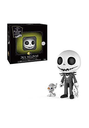 Funko 5 Star: Nightmare Before Christmas - Jack Skellington with Zero Collectible Figure, ()