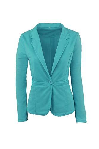 Cappotto Slim Colore Tailleur Manica Fit Confortevole Verde Giacca Suit Business Lunga Donna Bavero Giovane Autunno Puro Leisure Moda wqFpga1