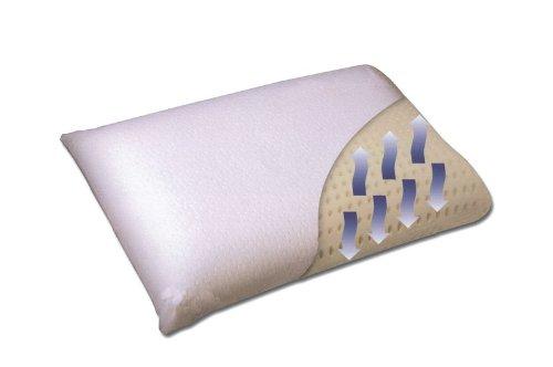 Ventilated Molded Visco Memory Foam - Christmas Tree Pottery Pillow Barn