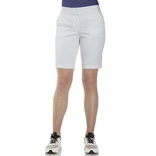 IZOD Women's Bar Harbor Bermuda Shorts (16, Bright -