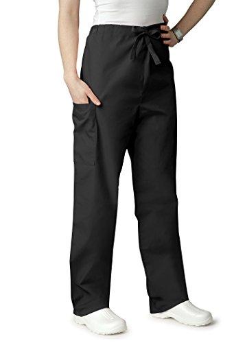 Classic Black Drawstring Pants - 7