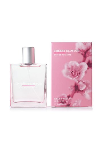 Bath & Body Works Signature Collection Cherry Blossom Eau De Toilette Spray, 1.7 fl. oz. (50 ml) by Bath & Body Works