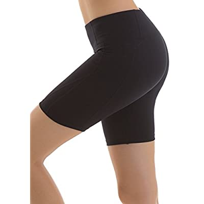 Hot Yoga Women's Tummy Control Fitness Workout Running Yoga Shorts (S-3XL) supplier