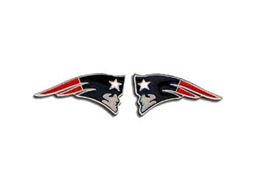 (NFL New England Patriots Team Post Earrings)
