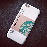 """New Starbucks Coffee Touch Cup Hard Case Cover For iphone 6 (4.7"""")White"""