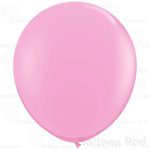 [36 Inch Giant Jumbo Latex Balloons (Premium Helium Quality), Pack of 24, Pink] (Easy Homemade Adults Halloween Costumes)