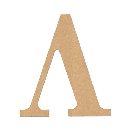 Diverse woodworking 7023 lambda 6 6quot letter quotlambdaquot greek for Buy wooden greek letters