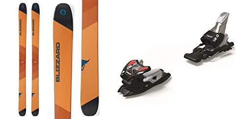 (Blizzard Cochise 178cm Skis 2019 & Marker 12.0 TPX Black Silver 110mm Brake Ski Bindings 2019)