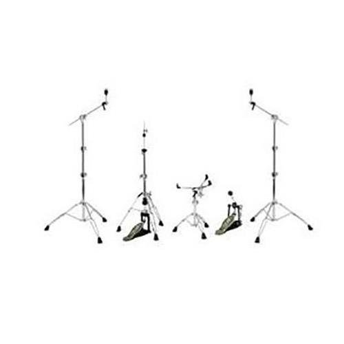 Crush Drums M4 Series 5 Piece Hardware Pack, Includes 2x Boom Cymbal Stand, Bass Drum Pedal, Snare Stand and Hi Hat Stand