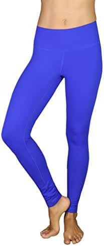 90 Degree by Reflex Power Flex Yoga Pants - Royal Blue Medium