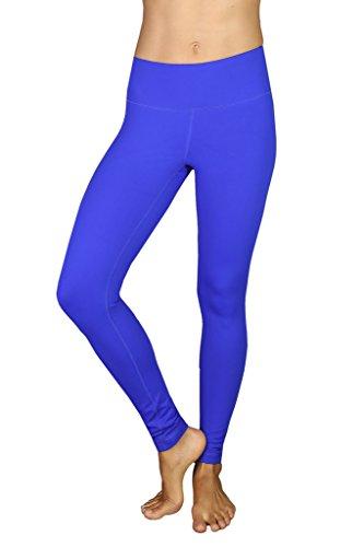 Girls Blue Sports Flare Pants - 4