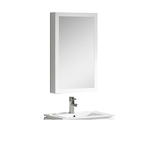 Fine Fixtures MAMC20WH Manchester Medicine Cabinet, 20'', White by Fine Fixtures