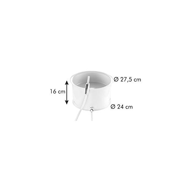Tescoma 895250.00 Estrattore a Vapore, Plastica, Bianco, 28.4 x 16.9 x 28 cm 7 spesavip