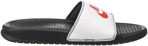 de Nike Black Benassi Piscine Redwhite 006 Game Noir Plage Chaussures Homme et JDI Ttazgwtq