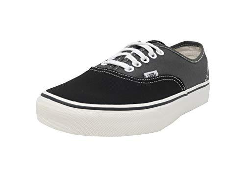 - Vans Unisex Authentic (Vintage 2-Tone) Blk/CHRCL Skate Shoe 10.5 Men US / 12 Women US