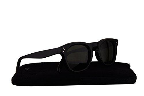 Celine CL41371/S Sunglasses Black w/Green Lens 8071E CL - 2016 Celine Eyeglasses